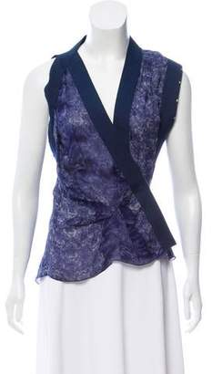 CNC Costume National Printed Sleeveless Top w/ Tags