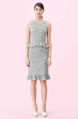Rebecca Taylor Tweed Pencil Skirt