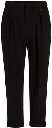 ISABEL MARANT Lissa high-rise cropped trousers