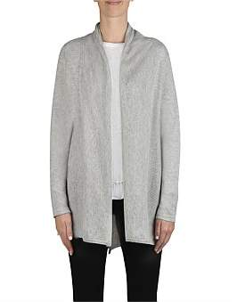 Jump V Hem Edge To Edge Cardigan