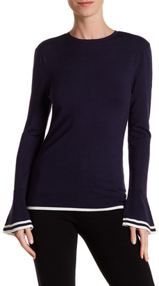 Dolce Cabo Bell Sleeve Sweater $83 thestylecure.com