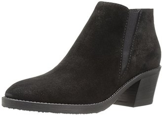 Aquatalia Women's Lillian Pebbled Suede Ankle Bootie $145.31 thestylecure.com