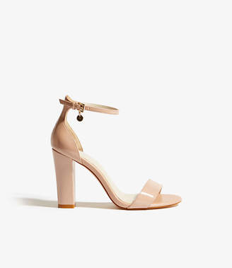 7bd5fd321a2958 Karen Millen Patent Strappy Sandals
