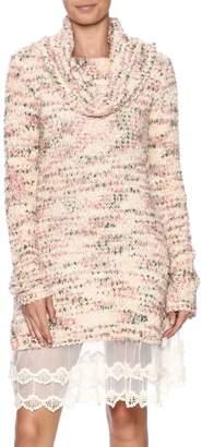 Ryu Sweater Lace Dress