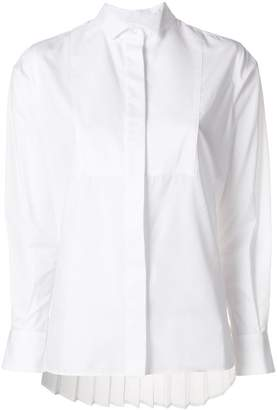Sacai pleated back shirt