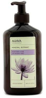 Ahava NEW Mineral Botanic Velevt Body Lotion - Lotus & Chestnut 400ml Womens