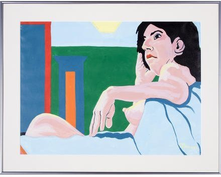 Untitled (Nude Reclining)