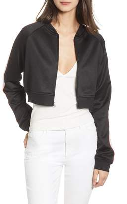 Juicy Couture Logo Patch Tricot Jacket