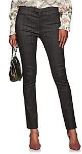 Isabel Marant Women's Kenton Pinstriped Trousers - Gray