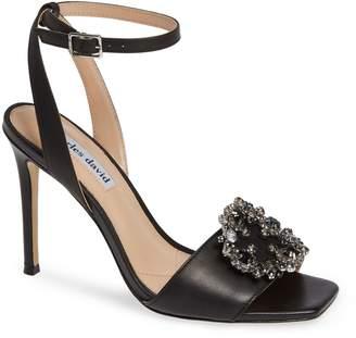 Charles David Vanity Crystal Embellished Sandal