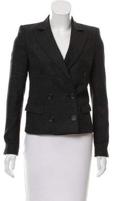 BLK DNM Wool Double-Breasted Blazer