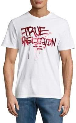 True Religion Graffiti Cotton Tee