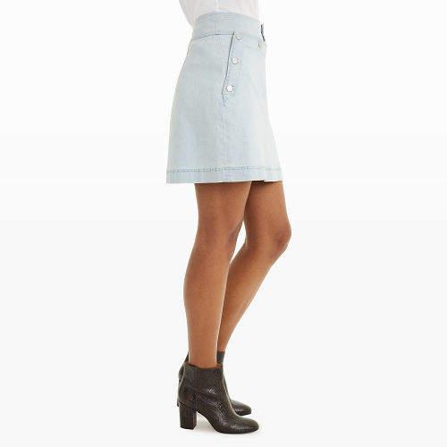 Club Monaco Haldys Denim Skirt