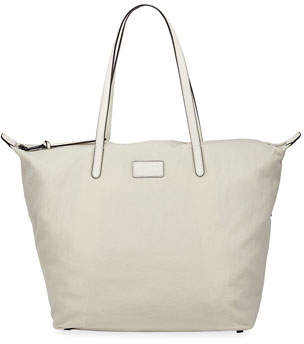 Rebecca Minkoff Washed Nylon Large Tote Bag