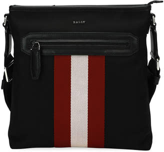 Bally Currios Trainspotting Knit Crossbody Bag