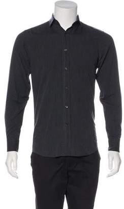 Ralph Lauren Black Label Point Collar Button-Up Shirt