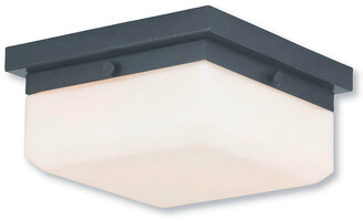 Livex Lighting Livex Allure 2-Light Ebz Wall Sconce/Ceiling Mount