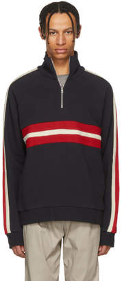 Harmony Navy Striped Sofian Sweater