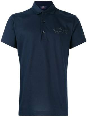 Paul & Shark logo polo shirt