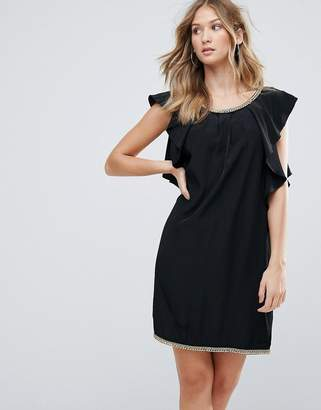 Deby Debo Frill Sides Cocktail Dress
