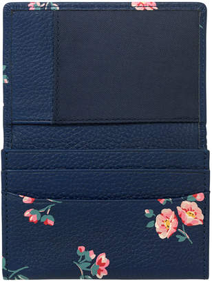 Cath Kidston York Ditsy Printed Leather Business Card Holder