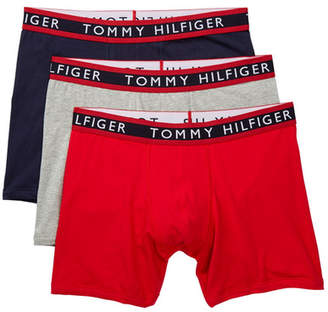 Tommy Hilfiger Stretch Boxer Brief - Pack of 3 $42.50 thestylecure.com