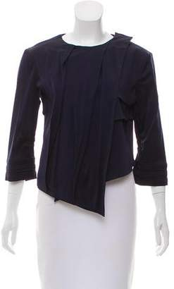 VPL Asymmetrical Pleated Jacket