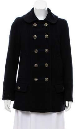 Marc Jacobs Wool Military Coat