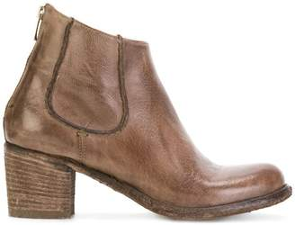 Officine Creative brushed ankle boots