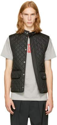 Belstaff Black Quilted Waistcoat