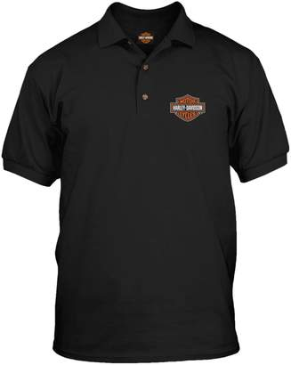 Harley-Davidson Men's Polo Shirt - Bar & Shield | Overseas Tour XL