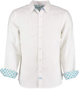 Tobias Clothing - Karnataka White Linen Shirt