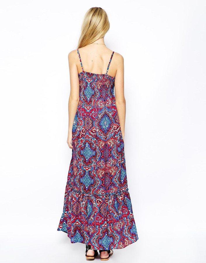Iska Paisley Print Maxi Dress