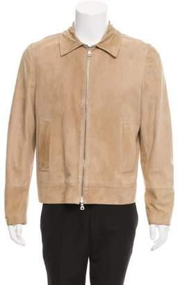 Deveaux Suede Flight Jacket w/ Tags