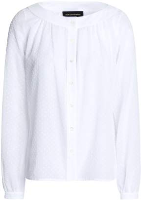 Vanessa Seward Swiss-dot Cotton Shirt