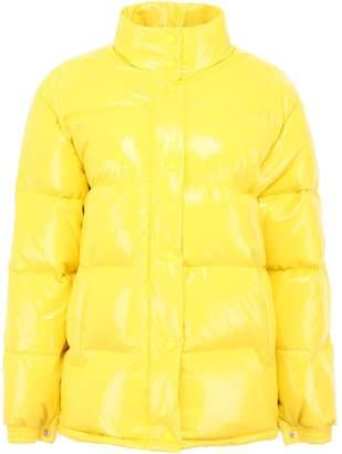 Alberta Ferretti Faux Leather Tuesday Puffer Jacket