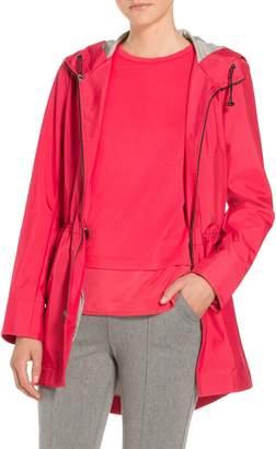 St. John Lightweight Bonded Water Resistant Outerwear Jacket