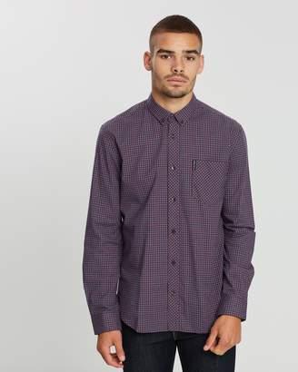 Ben Sherman LS Mini House Gingham Shirt