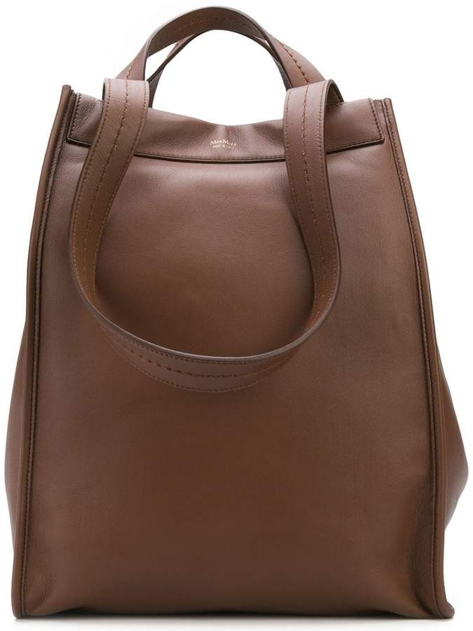 Max Mara large reversible shopper bag
