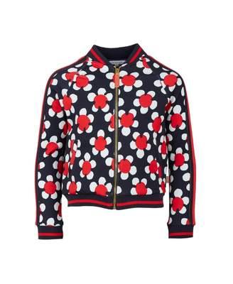 8d7afbd7839b Little Marc Jacobs Daisy Print Bomber Jacket Colour  NAVY