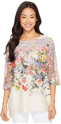 Nally & Millie - Printed Floral Tunic Women's Clothing $82 thestylecure.com