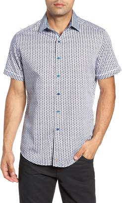 Robert Graham Westward Classic Fit Stripe Sport Shirt