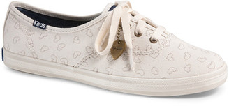 Keds Taylor Swift Champion Embroidery Hearts Sneaker $55 thestylecure.com