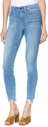Paige Transcend Vintage - Hoxton High Waist Ripped Crop Skinny Jeans