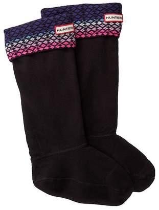 Hunter Tall Fairisle Boot Socks
