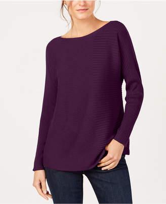 Eileen Fisher Tencel Boat-Neck Sweater, Regular & Petite