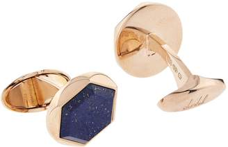 Dunhill Hexagon Lapis Cufflinks
