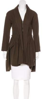 Lanvin Shawl Collared Wool Jacket