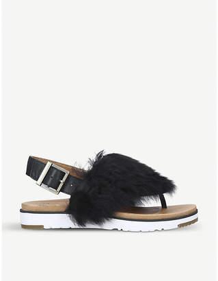UGG Holly sheepskin sandals