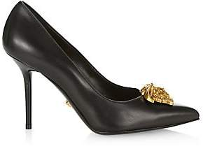 Versace Women's Medusa Leather Pumps